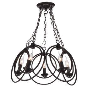 Подвесной светильник Escada 542/5 E14*60W D530 Blac